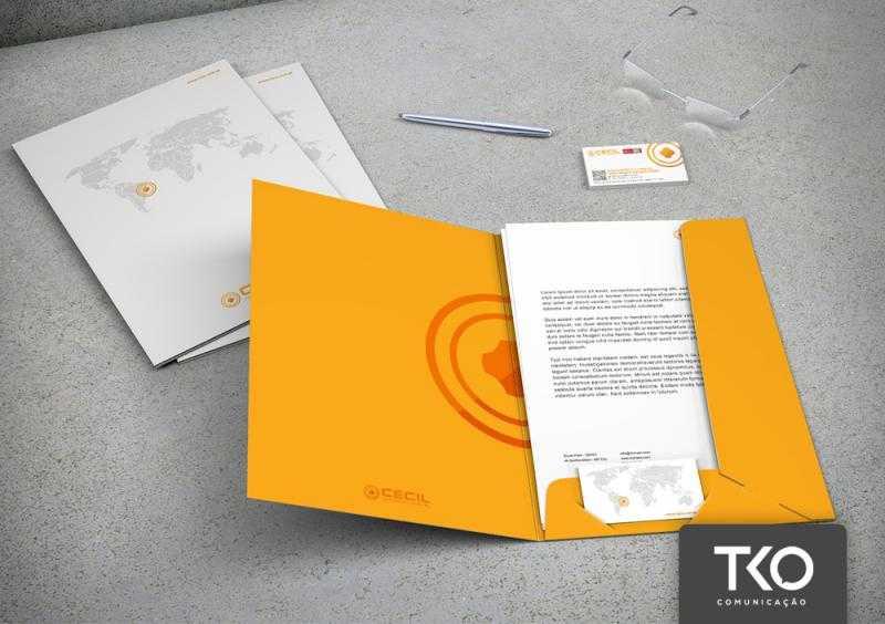 Criação de papelaria para empresas