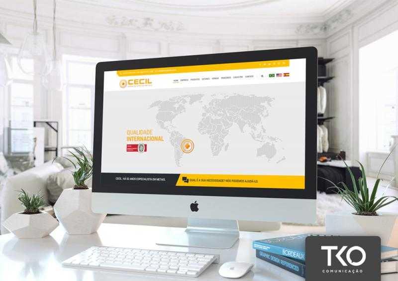 Criação de sites para pequenas empresas